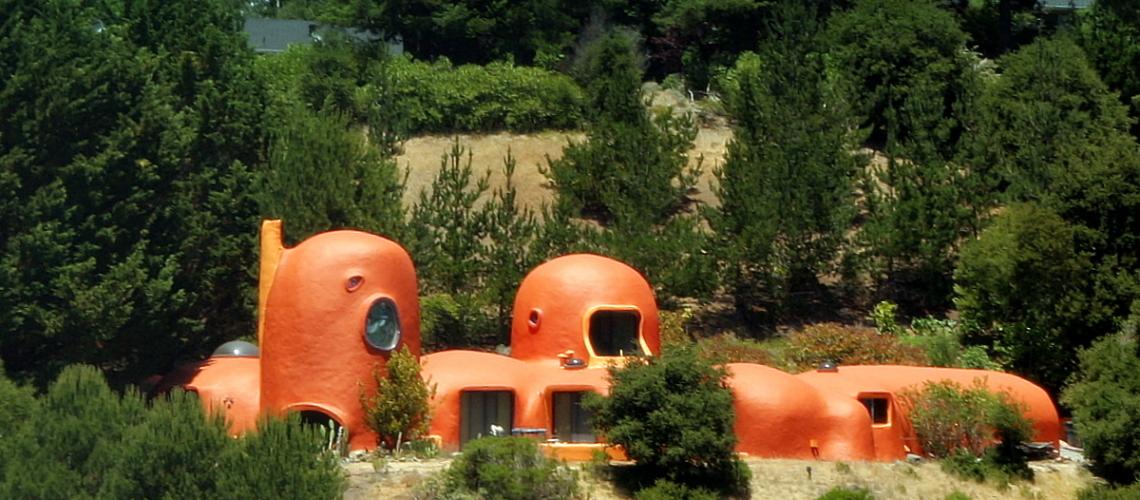 Flintstones Inspired Home in Malibu